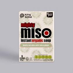 Organic Miso Soup Tofu & Ginger - 6 Pack ****