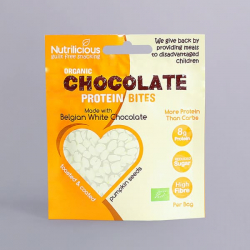 Organic Pumpkin Seeds - White Chocolate - Nutrilicious