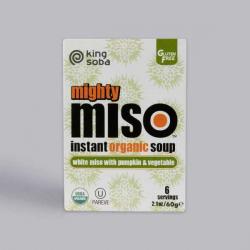 Organic Pumpkin & Veg Miso Soup - 6 Pack ****