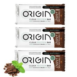 Handmade All Natural Protein Bars - 1 x 60g Chocolate Mint