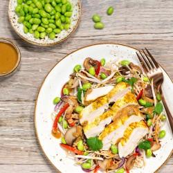 Oriental Chicken Pad Thai - 62g Protein
