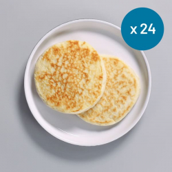 24 x High Protein Ready To Eat Plain Pancakes