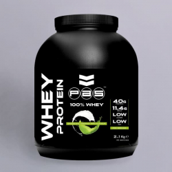 PAS Nutrition 100% Whey Protein - Mint Chocolate Coconut 2.1kg