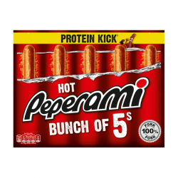 5 Pack - Hot Peperami Sticks