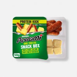 Peperami Salami & Cheese Snack Box