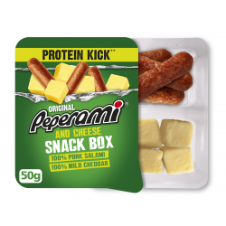Peperami Salami & Cheese Snack Box