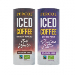 Percol Iced Coffee - Protein Latte & Flat White