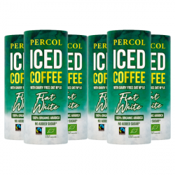 Percol Dairy Free Flat White Iced Coffee 6 x 230ml