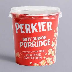 Perk!er Plain Oaty Quinoa Porridge Pot 55g
