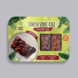 Tempeh Spare Ribz – Sticky BBQ 280g