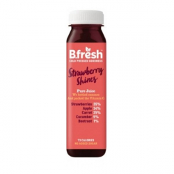 B.Fresh Cold Pressed Juices - Strawberry Shines