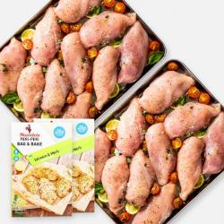 Premium Chicken Breast Fillets - 5kg + Free Nando's Bag & Bake