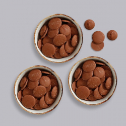 Premium Milk Chocolate Buttons - 3 x 85g Bags
