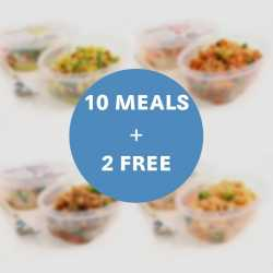 10 Meals + 2 Free - Favourites