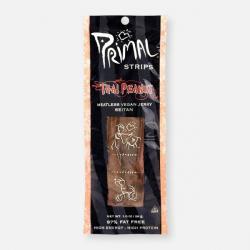 Primal Strips - Thai Peanut Jerky-1 x 28g Pack