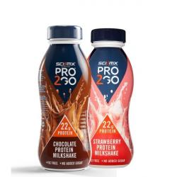 Sci MX Pro2Go 22G Protein Milkshakes-1 Bottle-Strawberry