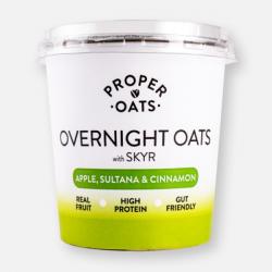Proper Oats Overnight Oats -  Apple and Cinnamon