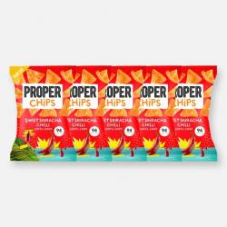 PROPERCHIPS - Sweet Sriracha Chilli - 5 x 20g