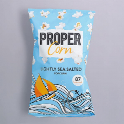 PROPERCORN - Lightly Sea Salted Popcorn
