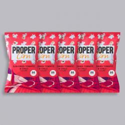 PROPERCORN - Sun-Dried Tomato & Chilli - 5 x 20g