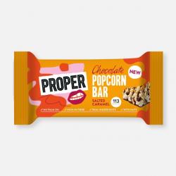 Chocolate Popcorn Bar - Salted Caramel 25g