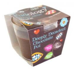 Pudology Deeply decadent chocolate pot