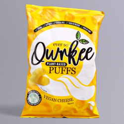 Cheese Vegan Puffs - Qwrkee