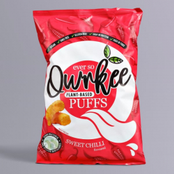 Thai Sweet Chilli Vegan Puffs - Qwrkee