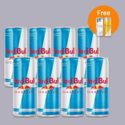 Red Bull Sugar Free - 8 x 250ml