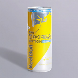 Red Bull Sugar Free- Tropical Edition