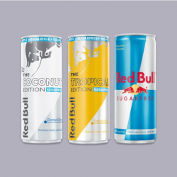Red Bull Sugar Free Bundle - 3 x 250ml