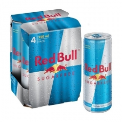 Red Bull Sugar Free Energy 250ml - 4 Pack