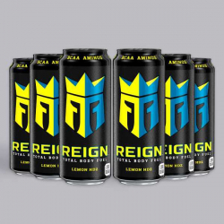 Lemon Headz Reign Zero Calorie BCAA Energy Drink 6 x 500ml