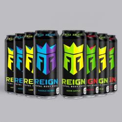 NEW Reign mixed bundle 8 x 500ml