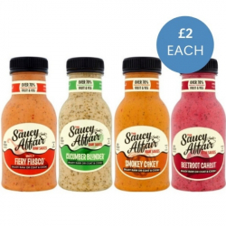 Raw Coat & Cook Sauce Variety Pack - 4 x 250ml
