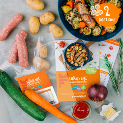 Sticky Chilli Sausage & Veg Bake - 2 Portion Recipe Kit