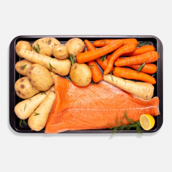 Scottish Salmon Side One Pan Hamper