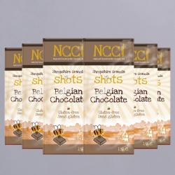 Shropshire Granola Shot - Belgian Chocolate 6 x 15g Packs