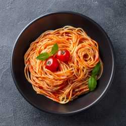 Low Fat Mediterranean Pasta by Eat Water