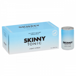 Skinny Tonic Citrus Tonic Water Case Of 8