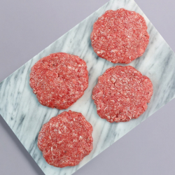 Smashed Beef Burgers - 4 x 54g