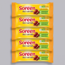 5 x Soreen Malt Loaf Bar 42g