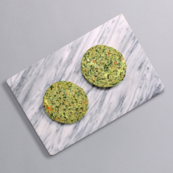 2 x 90g Soya Free Spinach Burgers