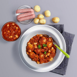 Smoky Sausage and Butter Bean Stew Slow Cooker Kit