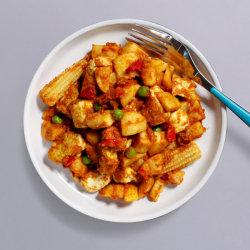 Bad Man Spicy Chicken Curry & Potato Pot - 41g Protein & 382 Kcal
