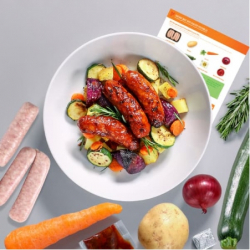 Sticky Chilli Sausage & Veg Bake Recipe Kit