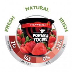 Powerful Yogurt Strawberry - 4 Pack