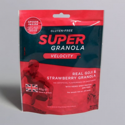 Super Granola Velocity Goji & Strawberry 65g