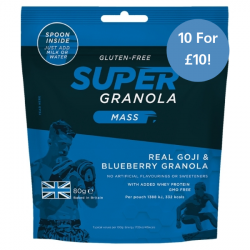 Super Granola Mass Goji & Blueberry 10 For £10!