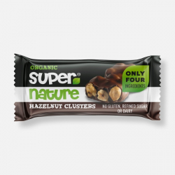 Supernature Chocolate Hazelnut Clusters 34g